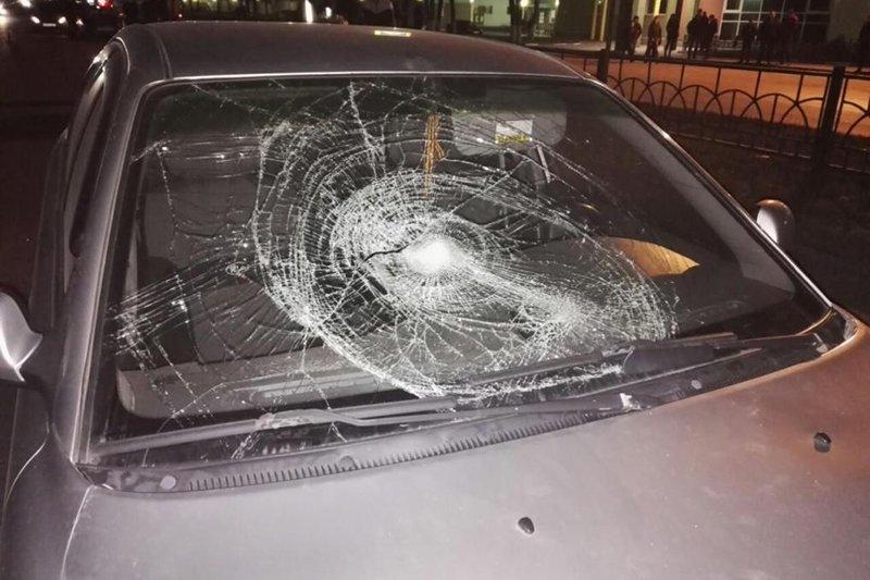 В Белгородском районе «Форд» вылетел на тротуар и сбил пешехода (фото) - фото 1