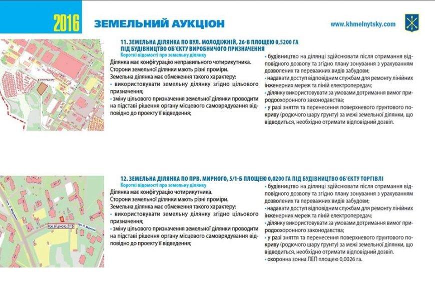 У Хмельницькій міськраді на аукціон виставляють 22 земельні ділянки (Фото) (фото) - фото 11