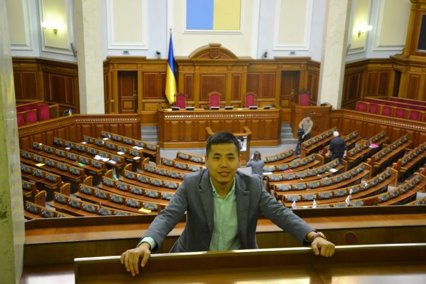 Студенты-иностранцы СумГУ посетили главные государственные учреждения Украины (ФОТО), фото-11