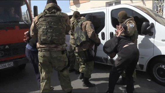 В Одессе задержали криминальную группировку (ФОТО, ВИДЕО) (фото) - фото 1