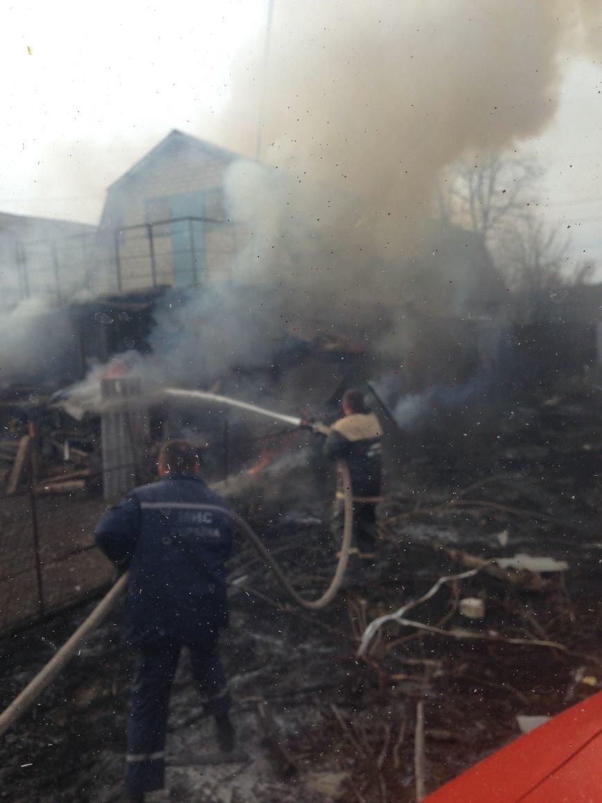 В Кременчугском районе горела частная усадьба (ФОТО), фото-3