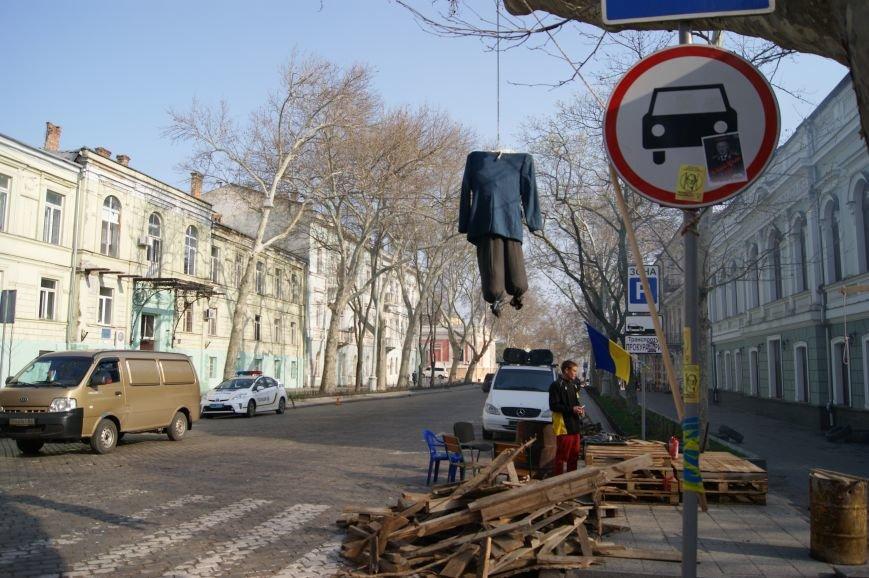 Прокурорский майдан: Полицейские увидели знак и стали гнать автохамов из центра (ФОТО) (фото) - фото 1