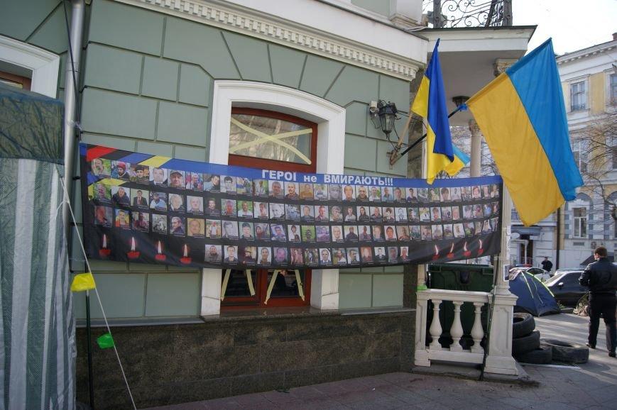 Одесса не сдается: Восьмое утро прокурорского майдана (ФОТО) (фото) - фото 1