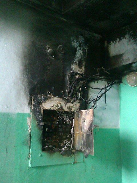 В Николаеве из пламени пожара в общежитии спасли 45 человек (ФОТО) (фото) - фото 1