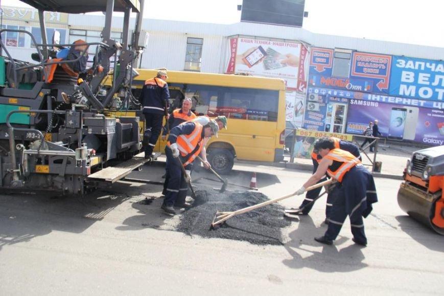 Если вы попали в пробку - радуйтесь! В Кременчуге ремонтируют дороги! (ФОТО) (фото) - фото 1