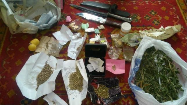 Днепропетровские правоохранители задержали вооруженного наркофермера (ФОТО) (фото) - фото 1