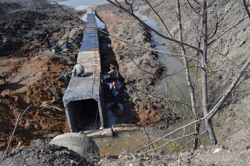 После расчистки пруда со стороны улицы Стрельникова в Кривом Роге разобьют сквер (ФОТО), фото-5