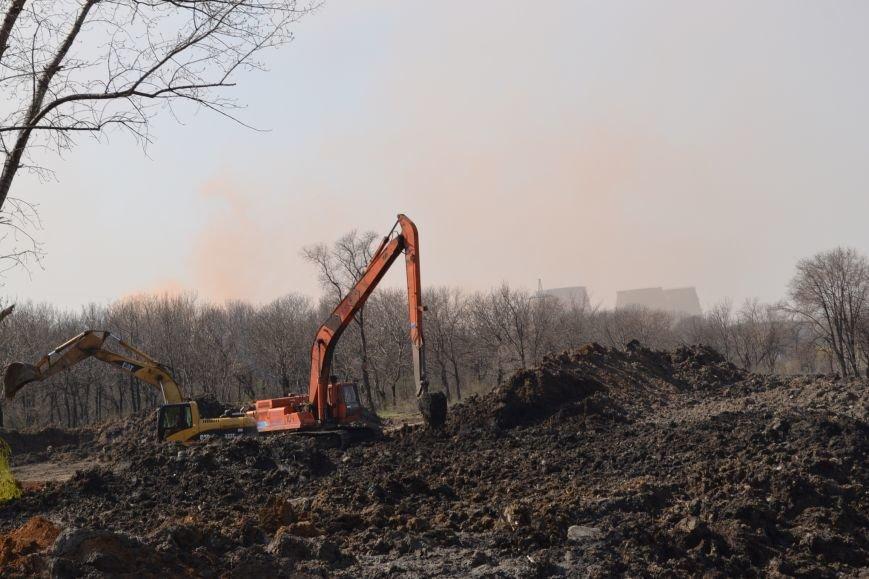 После расчистки пруда со стороны улицы Стрельникова в Кривом Роге разобьют сквер (ФОТО), фото-9