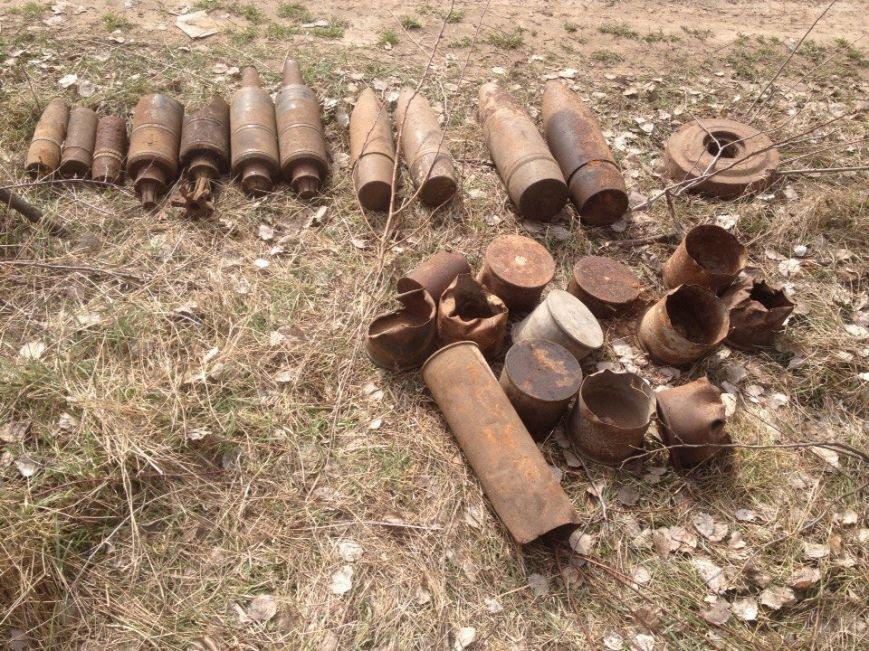 В Черниговском районе снова нашли старые боеприпасы (фото) - фото 1