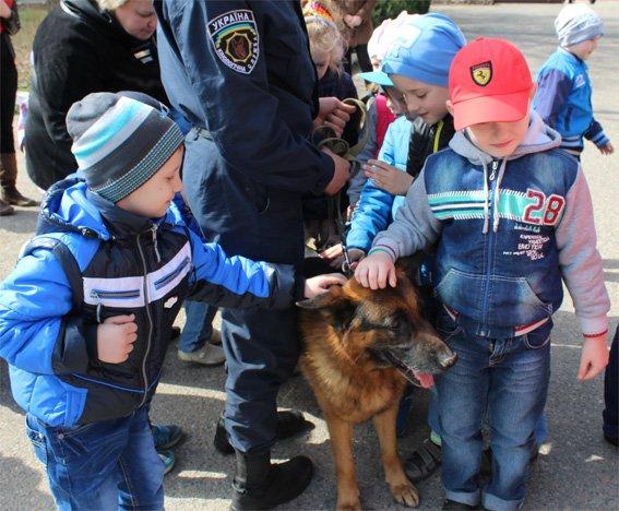 Кіровоградські поліцейські запросили свою майбутню зміну на екскурсію (ФОТОРЕПОРТАЖ) (фото) - фото 13
