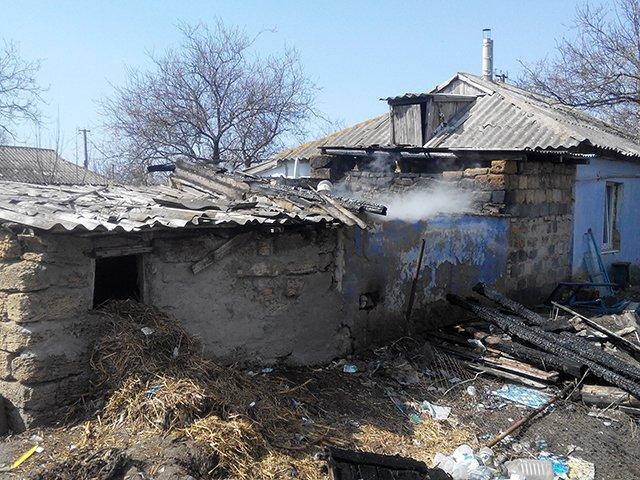 На Николаевщине детские шалости со спичками привели к пожару жилого дома (фото) - фото 1