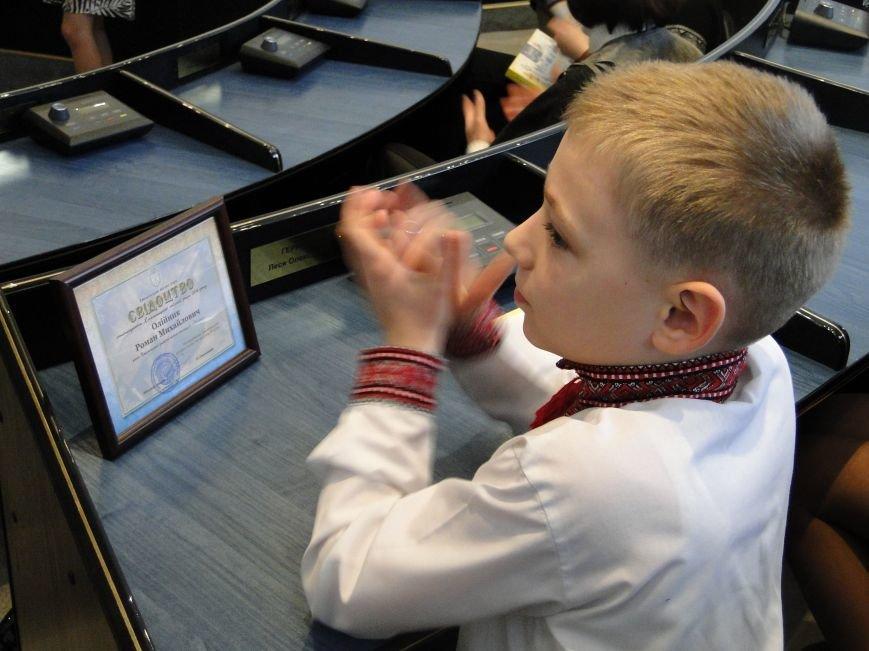 Симчишин нагородив обдарованих дітей та стипендіатів Хмельницького (Фото) (фото) - фото 1