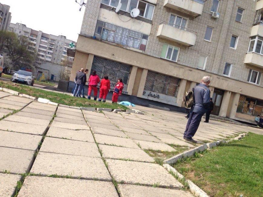 У Львові з багатоповерхівки випала людина (ФОТО) (фото) - фото 1