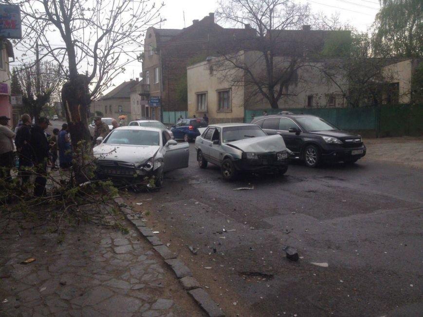 В Ужгороді на Тімірязєва розбилися дві машини (ФОТО), фото-1