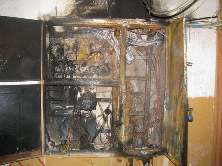 Ліквідовано загорання в електрощитовій по вулиці Запорожця (фото) - фото 1