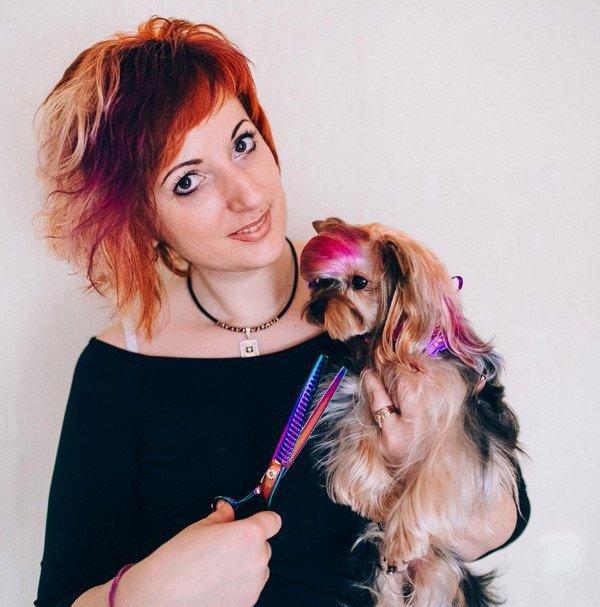 Жительница Новополоцка рассказала, насколько опасна работа парикмахера, чьи клиенты кошки и собаки (фото) - фото 1