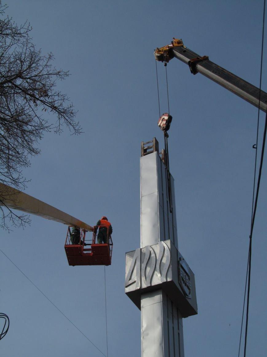 В Кременчуге сняли «серп и молот» на площади Независимости (фото и видео), фото-9