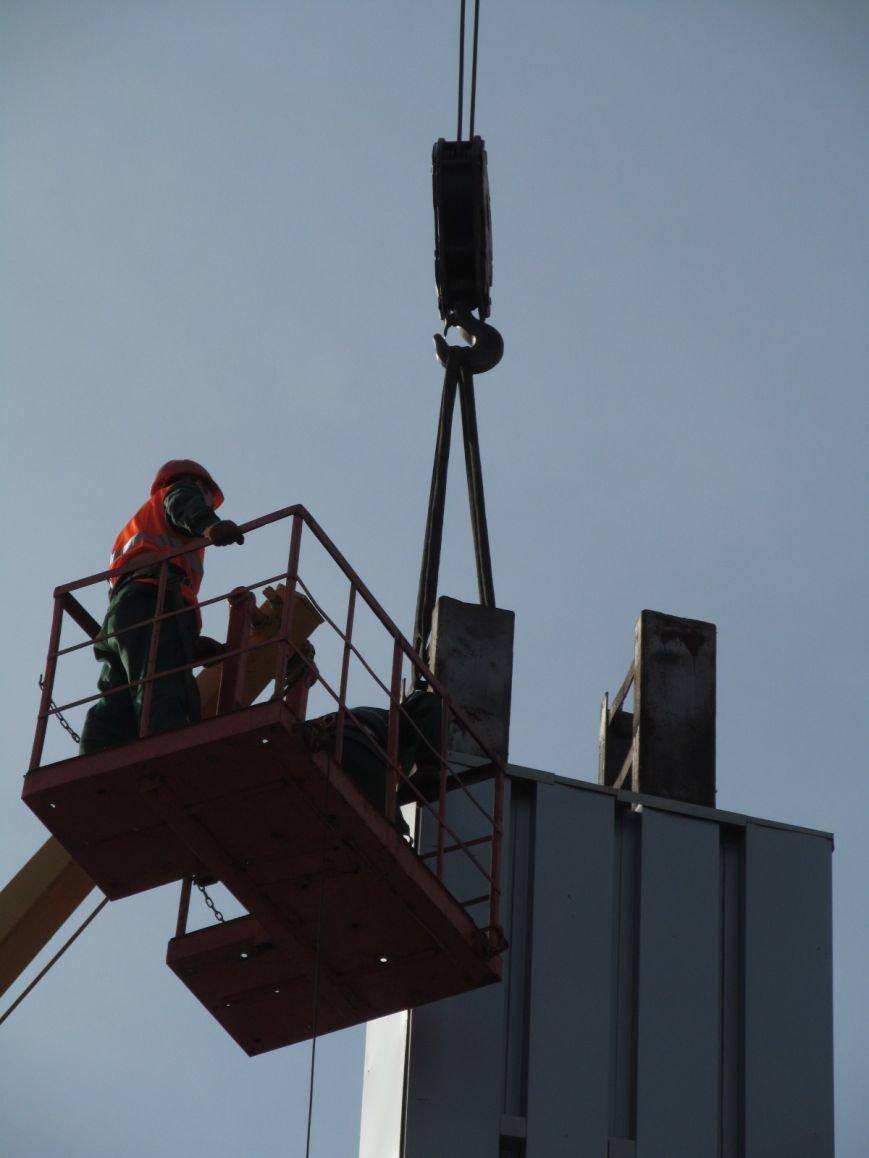 В Кременчуге сняли «серп и молот» на площади Независимости (фото и видео), фото-14