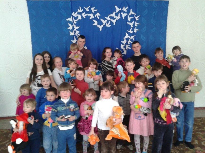 Днепродзержинские студенты устроили праздник для воспитанников детского приюта (фото) - фото 10