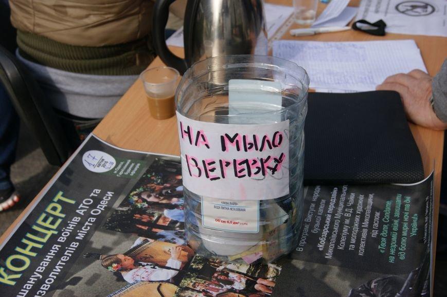 497f495dd20708709f29a8a6c626ad97 Прокурорский майдан в Одессе оброс баррикадами: Его защитники облачились в бронежилеты