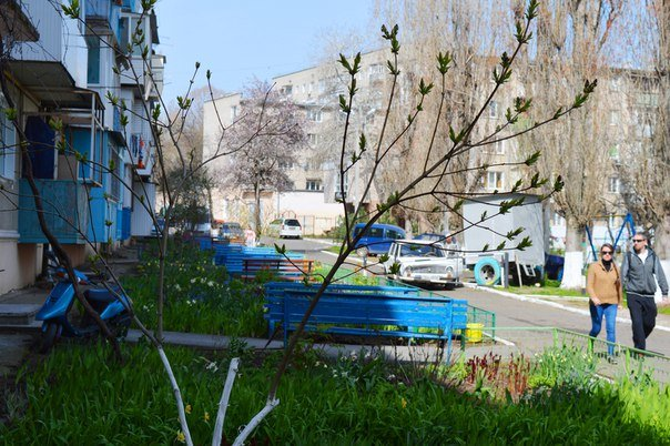 В Черноморске идёт ремонт подъездов, фото-2