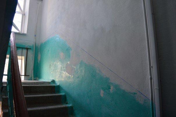 В Черноморске идёт ремонт подъездов (фото) - фото 5