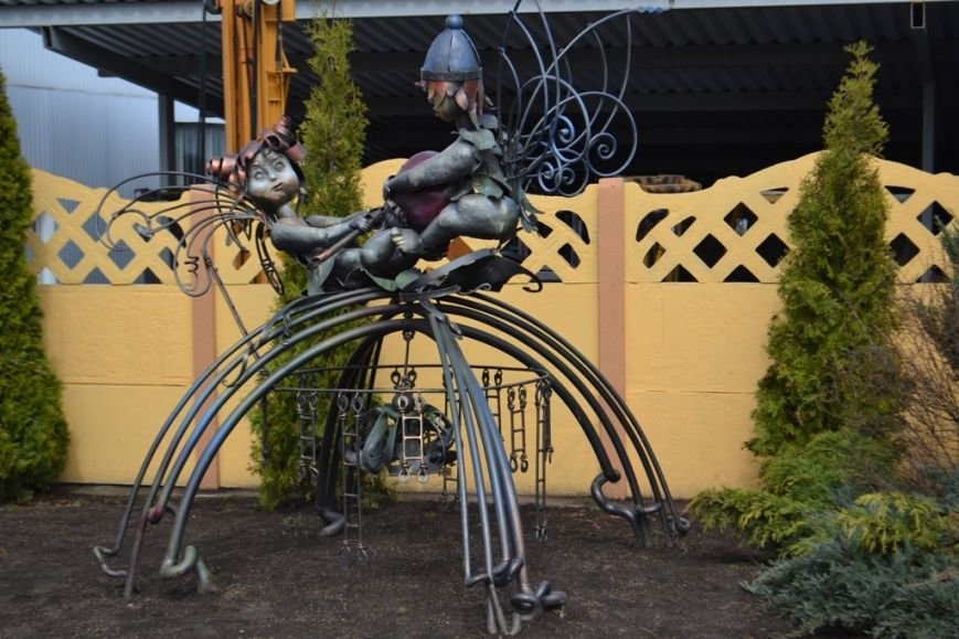 У Рівному відкрилася перша в Україні арт-галерея сучасного ковальства [ФОТО], фото-7