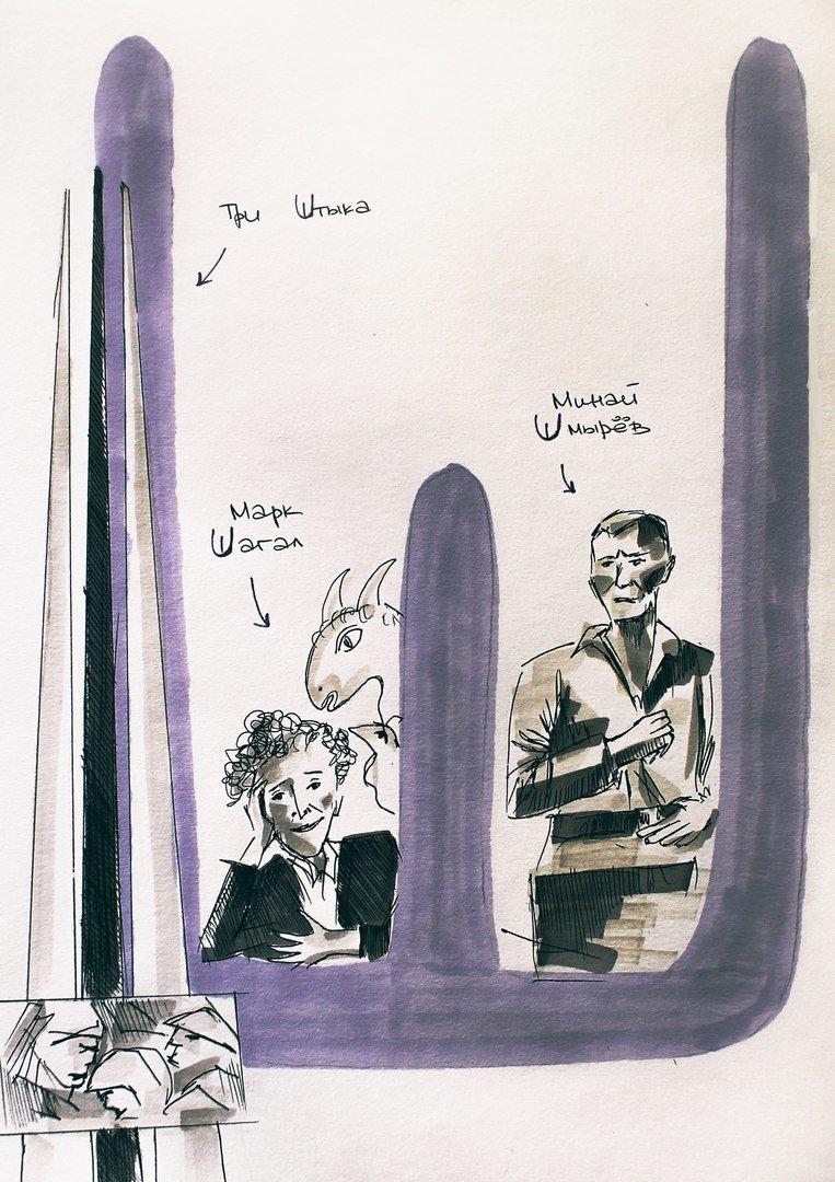 «А - Амфитеатр, О - Ольгерд». Как художник Тома Прокофьева придумала и нарисовала «Витебский алфавит», фото-8
