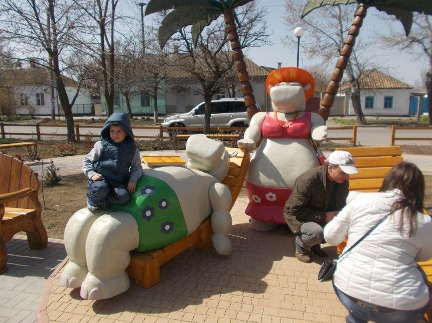 В Геническе замечены бегемоты (фото) (фото) - фото 1