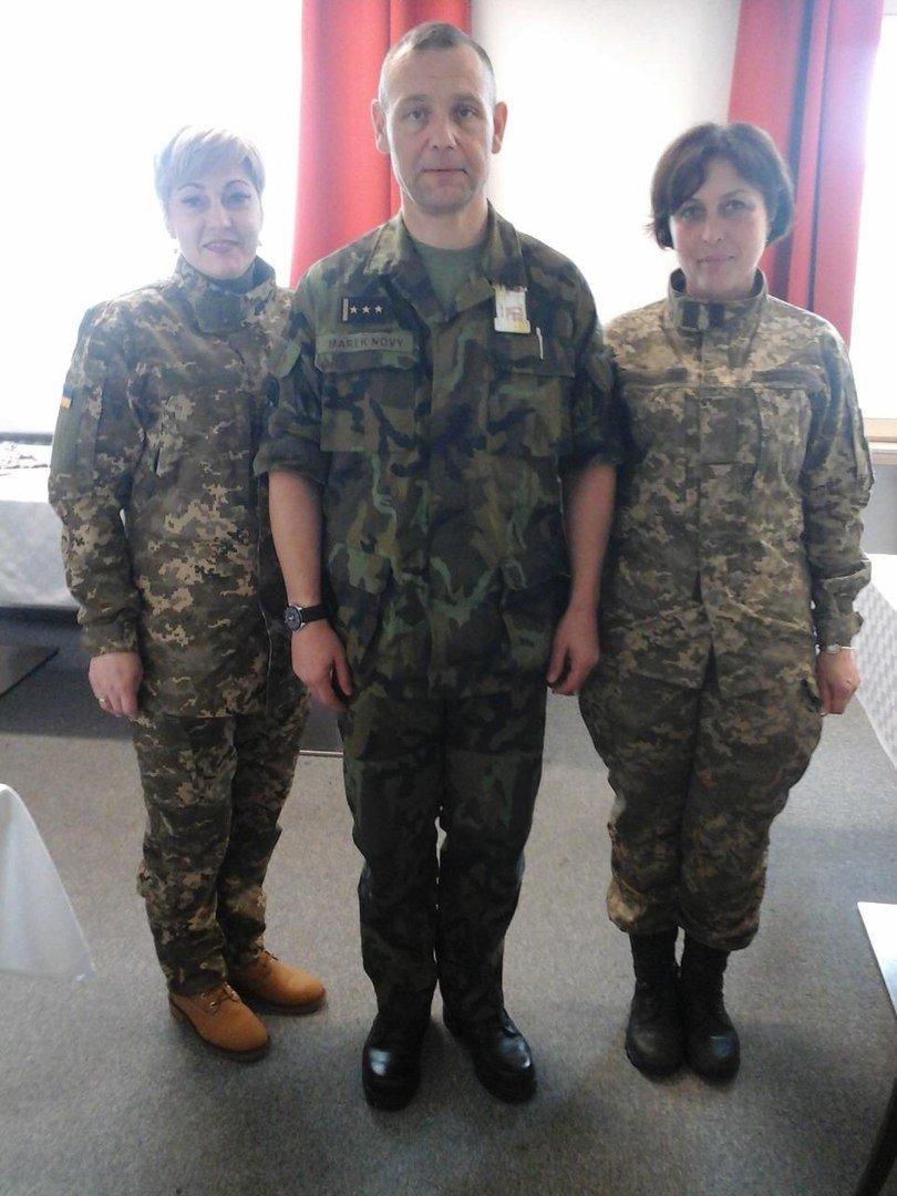 Военные медики 17-й Криворожской танковой бригады обучились в Чехии по стандартам НАТО (ФОТО) (фото) - фото 1