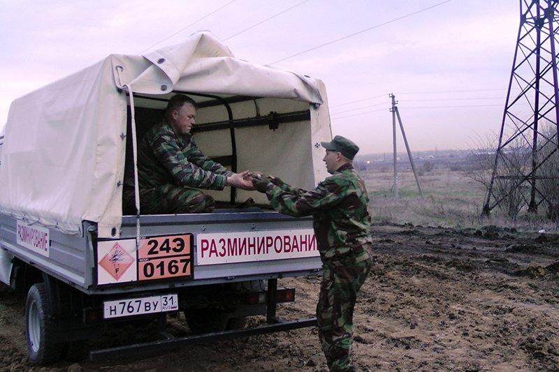 Под Белгородом тракторист отрыл 176 миномётных мин (фото) - фото 2