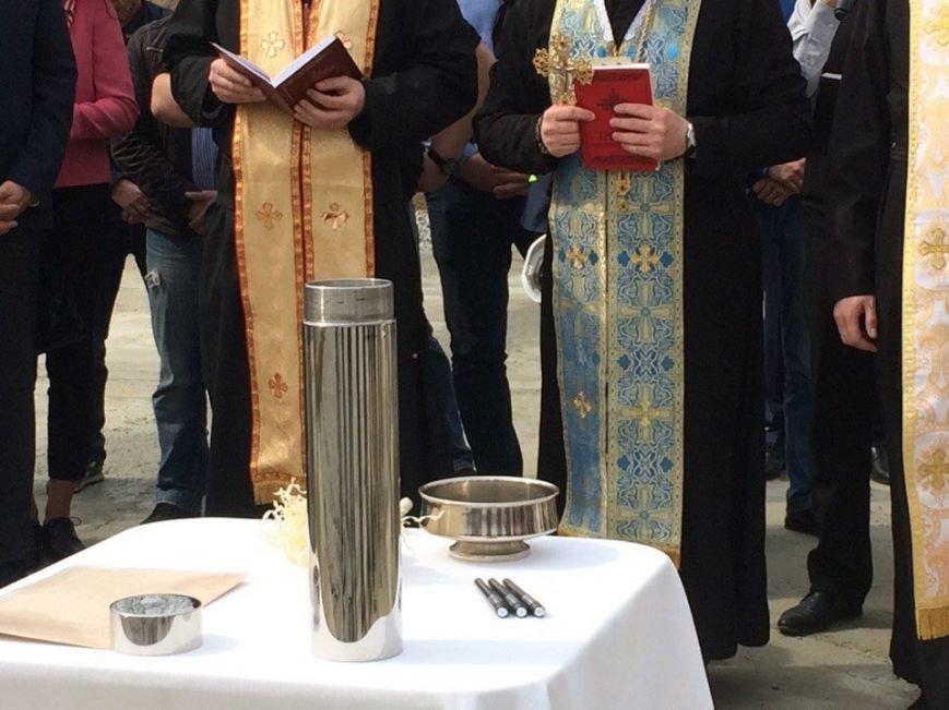 У Львові заклали капсулу в фундамент будинку для учасників АТО (ФОТО) (фото) - фото 1