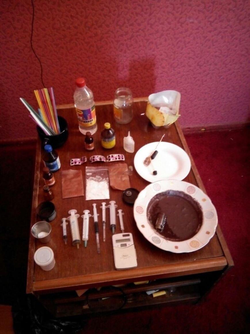 Днепропетровские борцы с наркопреступностью снова изъяли партию метамфетамина (ФОТО) (фото) - фото 1