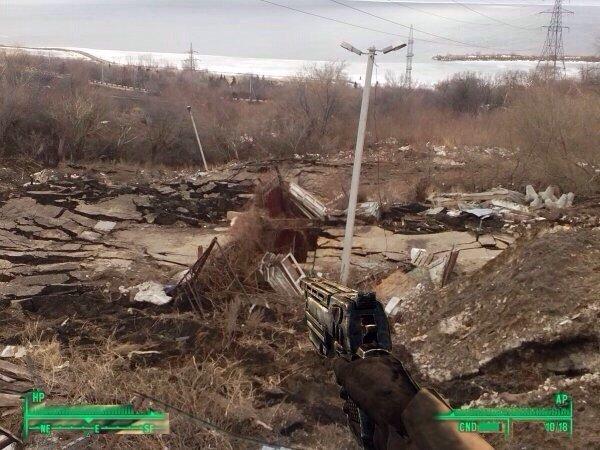 Ульяновский оползень стал мемом (фото) - фото 1