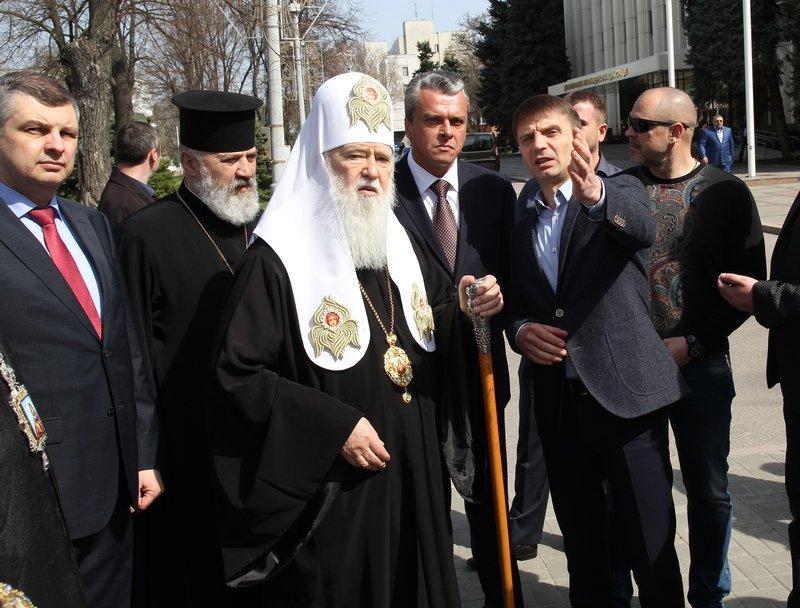 Что делал патриарх Филарет в Днепропетровске (ФОТО) (фото) - фото 13