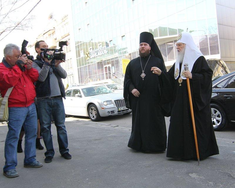 Что делал патриарх Филарет в Днепропетровске (ФОТО) (фото) - фото 2