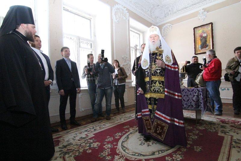 Что делал патриарх Филарет в Днепропетровске (ФОТО) (фото) - фото 3