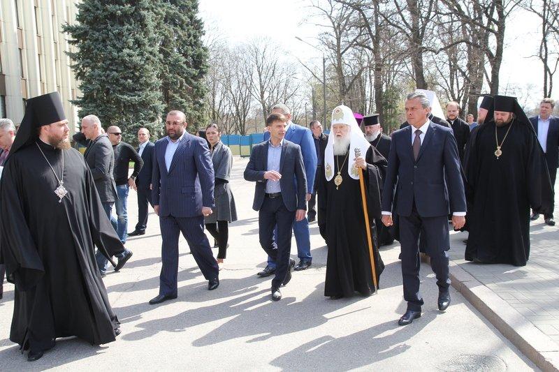 Что делал патриарх Филарет в Днепропетровске (ФОТО) (фото) - фото 18