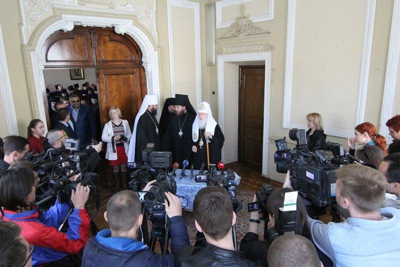 Что делал патриарх Филарет в Днепропетровске (ФОТО) (фото) - фото 6