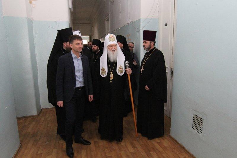 Что делал патриарх Филарет в Днепропетровске (ФОТО) (фото) - фото 10