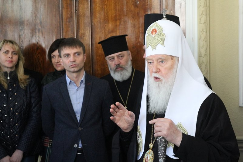 Что делал патриарх Филарет в Днепропетровске (ФОТО) (фото) - фото 8