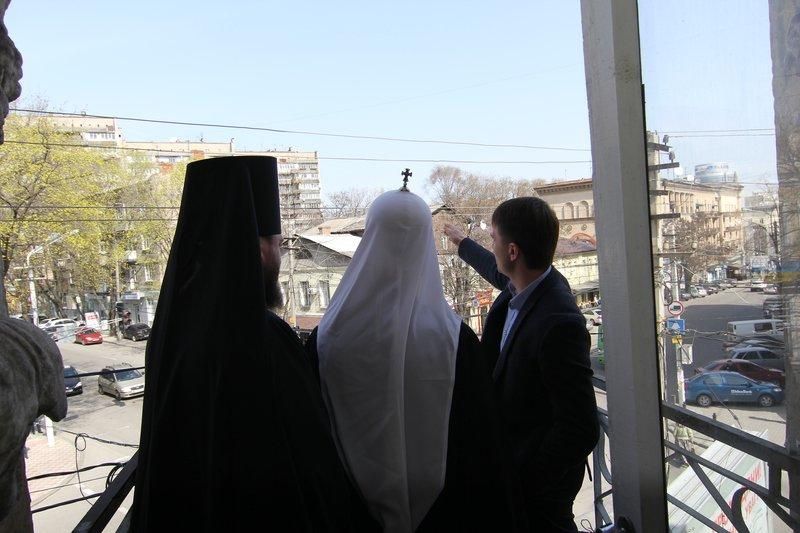 Что делал патриарх Филарет в Днепропетровске (ФОТО) (фото) - фото 9
