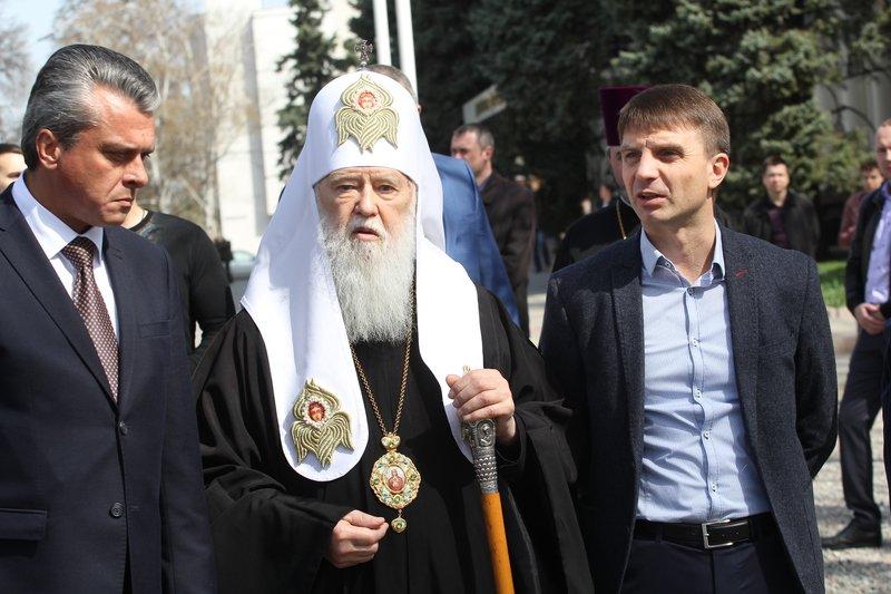 Что делал патриарх Филарет в Днепропетровске (ФОТО) (фото) - фото 17
