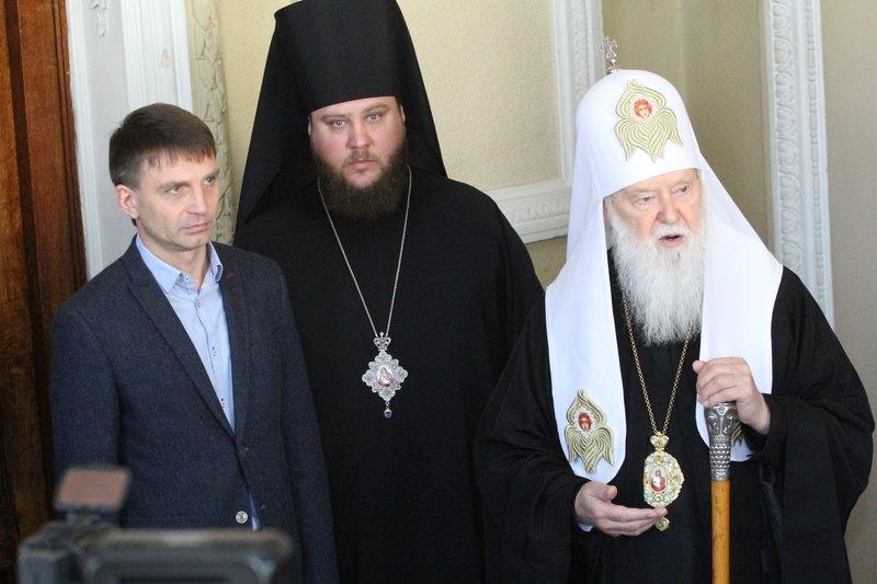 Что делал патриарх Филарет в Днепропетровске (ФОТО) (фото) - фото 7