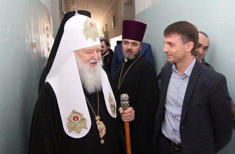 Что делал патриарх Филарет в Днепропетровске (ФОТО) (фото) - фото 11