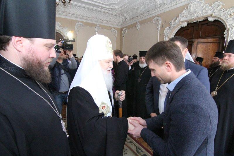 Что делал патриарх Филарет в Днепропетровске (ФОТО) (фото) - фото 5