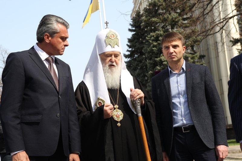 Что делал патриарх Филарет в Днепропетровске (ФОТО) (фото) - фото 16