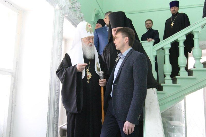 Что делал патриарх Филарет в Днепропетровске (ФОТО) (фото) - фото 12