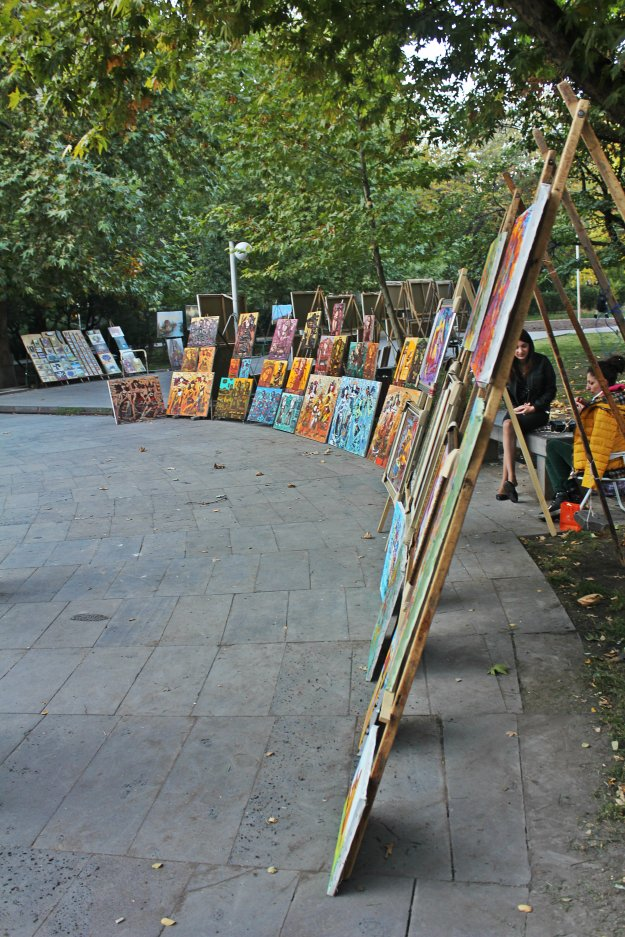 Весена в центре города: Парк им. М. Сарьяна (фото) - фото 1
