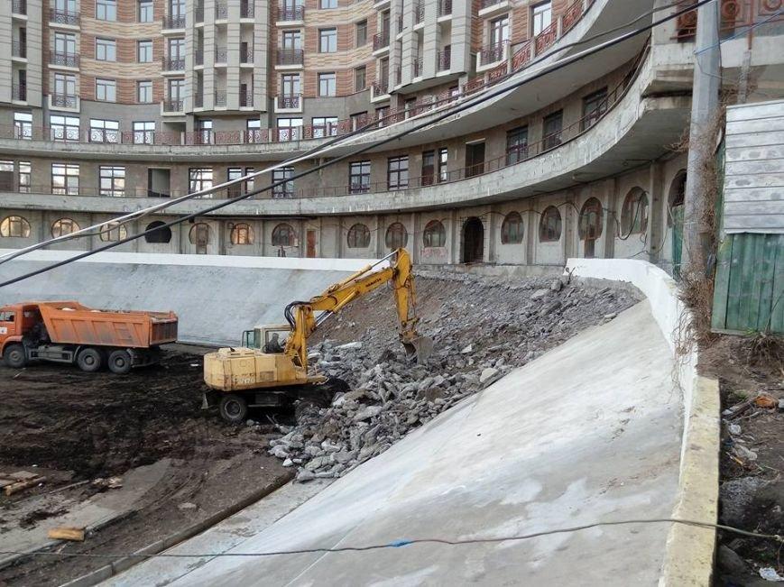 На Киевском велотреке демонтировали забетонированный вираж (ФОТО) (фото) - фото 1